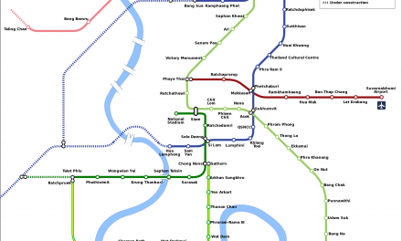 Bangkok MRT Train Information, Scheduled, Frequency, Route Guide